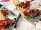 "Tapas-Style Pepper-Steak ""Parfaits"" (Small Plates, Big Taste)"