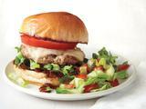 Pork Burgers With Bacon Marmalade