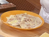 Goat Cheese Ravioli with Creamy Walnut Sauce