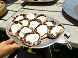 Fresh Herb and Goat Cheese Stuffed Grilled Portobellos
