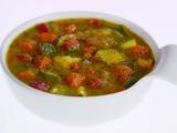 Rustic Vegetable and Polenta Soup