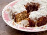 Grandma Yearwood's Coconut Cake with Coconut Lemon Glaze