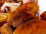 Boule Shaped Loaves of Bread: Pan De Horno