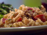 Hoppin' Jason: Cannellini and Rice with Andouille Sausage