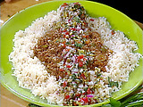 Spanish Style Beef and Rice