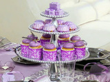 Tablescape Center Piece Mini Cakes Three Ways