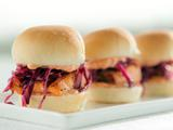 Shoreline Salmon Sliders and Crispy Slaw