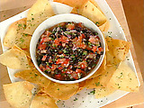 Fresh Tomato and Black Bean Salsa