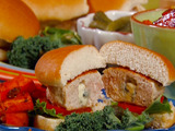 Blue Cheese-Stuffed Turkey Burgers