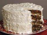 Ron's Carrot Cake with White Chocolate Buttercream