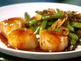 Caramel Glazed Sea Scallops