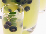 Blueberry-Limoncello Cooler