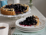Blueberry Almond Breakfast Tart