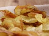 Homemade Black Pepper Potato Chips