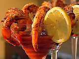 BBQ Shrimp with Cocktail Sauce
