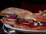 Bifteki Burger Sandwich