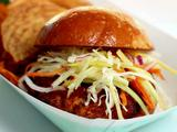 Crab Burgers with Tiger Slaw