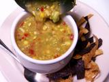 Avocado Corn Gazpacho