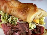 Roasted Leg of Lamb Sandwich
