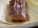 Apple with Pecan Tamale