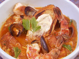 Fulton Fish Market Cioppino with Sourdough Croutons