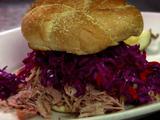 Chipotle-Habanero Pork BBQ Sandwich