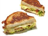 Brussels Sprout and Bacon Grilled Cheese