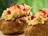 Deluxe Twice Baked Potatoes with Shrimp