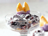 Coconut and Black Rice Pudding