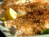 Fresh Thyme, Garlic and Lemon Broiled Catfish with Bread Crumbs