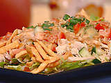Thai Chicken Salad with Peanuts and Lime