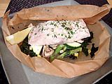 Wild Striped Bass en Papillote