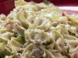 Pasta with Pancetta and Leeks
