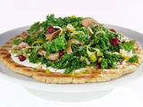 Kale, Mushroom and Cranberry Tart