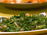 Indian Spinach and Chickpeas