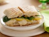 Taleggio and Pear Panini