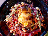 Vampire Chicken with Blood Braise