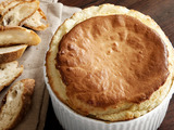 Three-Cheese Souffle