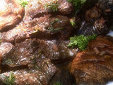 Cabernet Steak and Mushrooms