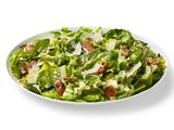 Caesar Salad With Bacon, Brussels Sprouts and Basil