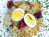 Bacalhau a Gomes de Sa (Salt Cod, Onions and Potatoes)