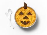Mac and Cheese Jack O' Lantern