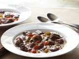 Hearty Cranberry Bison Stew