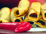 Yucatan Beef Taquitos with Red Rice