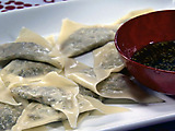 Buddha's Delight Dumplings with Ginger-Chive Ponzu
