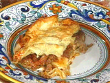 Neapolitan Baked Lasagne: Lasagne Napoletane