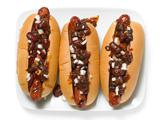 Barbecue Bean Chili Dogs