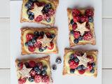Star-Studded Berry Tarts