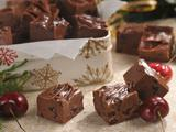 Dark Chocolate Cherry Fudge (Sponsored)