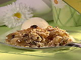 Apple Raisin Betty
